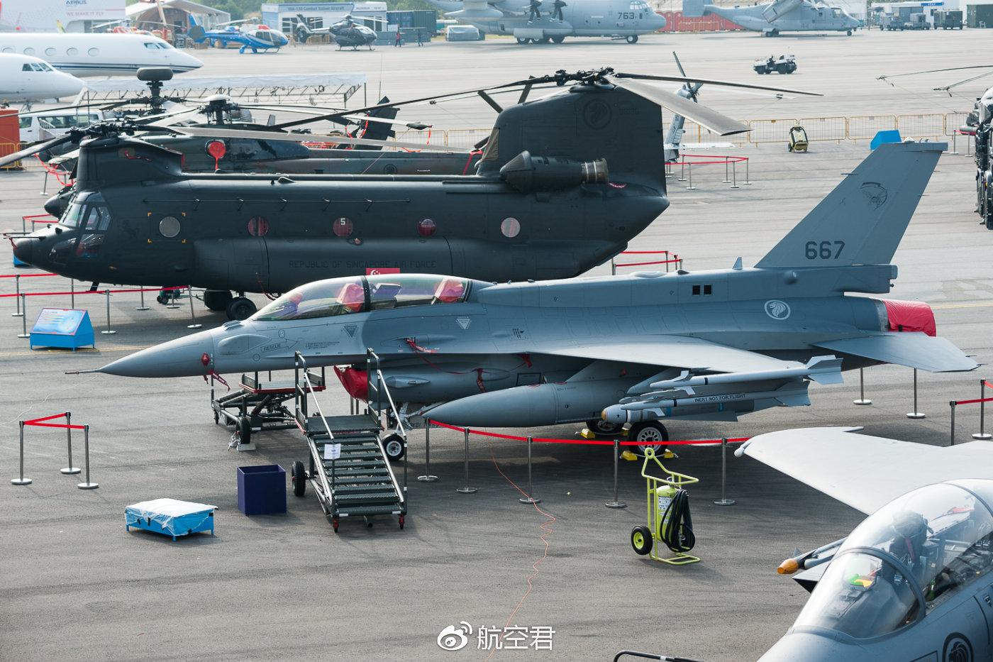 新加坡空军的F-15SG和F-16D都是最新改型,数量和质量上都比马来西亚要强